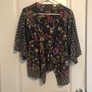 Anthropologie Open faced cardigan